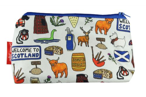 Selina-Jayne Scotland Limited Edition Designer Cosmetic Bag